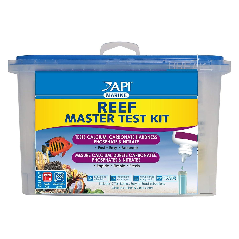 1 pack API REEF MASTER TEST KIT Reef Aquarium Water Test Kit 1-Count