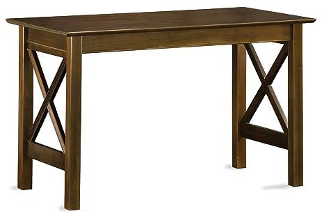 Amazon.com: Atlantic Muebles Lexi mesa de trabajo: Kitchen ...
