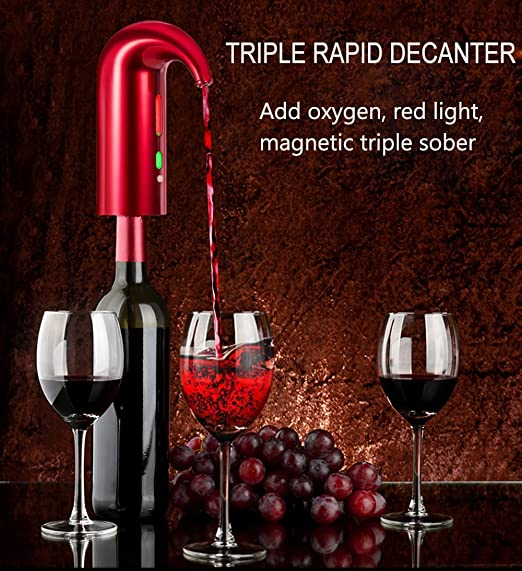 Electronic Decanter//high-Pressure Oxygen//Magnetic Decanter//Smart Electric Rapid Decanter//Intelligent Alcohol Separator//Wine Decanters