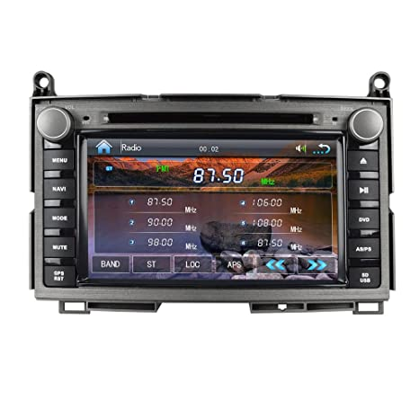 Amazon.com: Ruicer GPS Car Navigation Bluetooth Digital TV ...