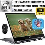 """2020 Premium Acer Chromebook Spin 713 2-in-1 Laptop 13.5"""" 2K TouchscreenIPS10th Gen Intel 4-Core i5-10210U(Beats i7-8550U)"""