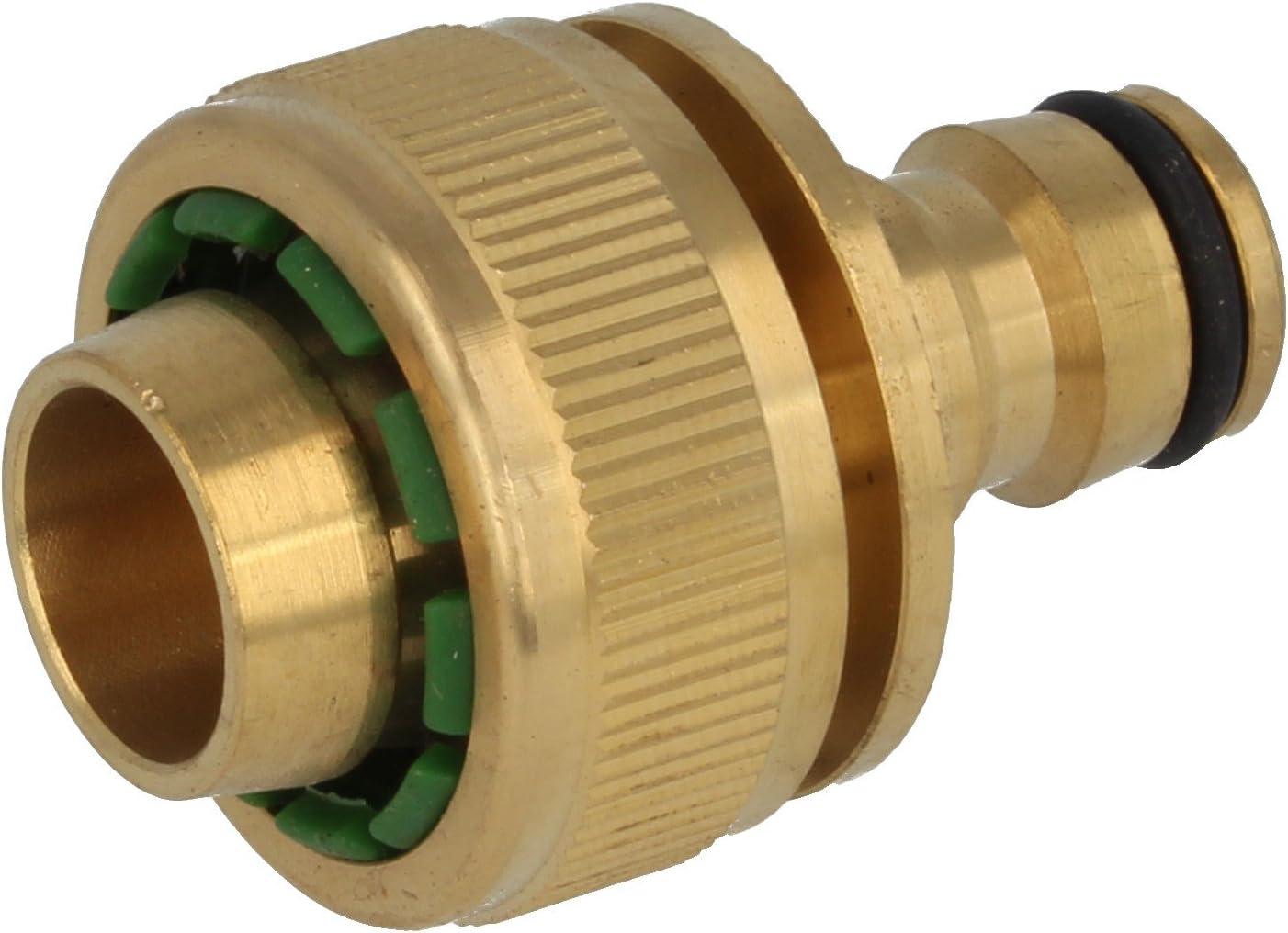 Ø 19 mm Schlauchanschluss mit Stecker für Schlauch 3//4 Zoll MS-Stecksystem