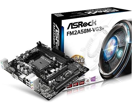 10 opinioni per Asrock FM2A58M-VG3+- Scheda Madre (DIMM, DDR3-SDRAM, Dual, AMD, AMD A, Socket