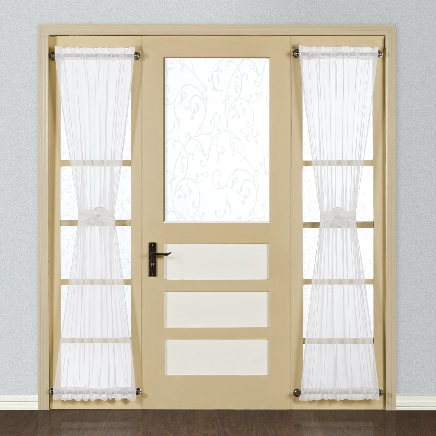 How To Make Curtain Panels For French Doors Curtain