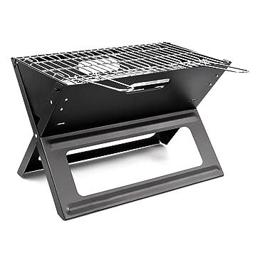 GIRM® gs5760 barbacoa de carbón portátil y plegable 45,5 x 30 x 30
