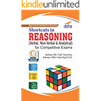 Shortcuts in Reasoning (Verbal, Non-Verbal & Analytical) for Competitive Exams