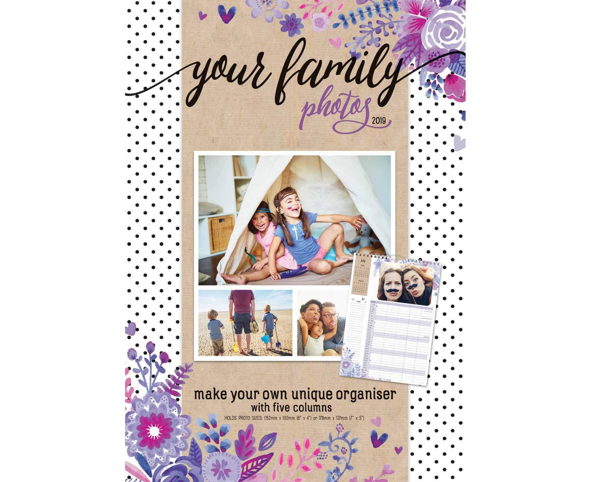 Your Family Photos P A3 2019 (A3 Planner) Paperback – 6 Aug 2018 Carousel Calendars 2019 1786671670 Schreibwaren (bedruckt)