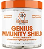 Immune Support Supplement w/ Elderberry Extract, Vitamin C, & Echinacea –Daily Immunity Booster for Adults – Boost…