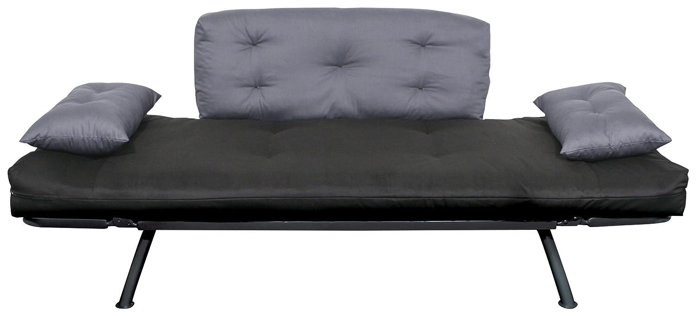 amazon    american furniture alliance mali flex futon with adjustable armrests  kitchen  u0026 dining amazon    american furniture alliance mali flex futon with      rh   amazon