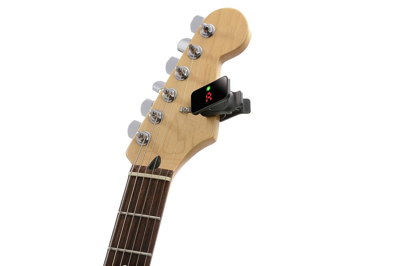 Korg - Afinador de guitarra, con clip, negro: Amazon.es: Instrumentos musicales