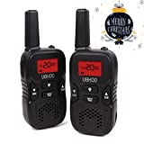 Amazon Price History for:Walkie Talkies, 22 Channel FRS/GMRS Kids Walkie Talkies 2 Way Radio 3.7 Miles UHF Handheld Walkie Talkies for Kids (1 Pair) Black