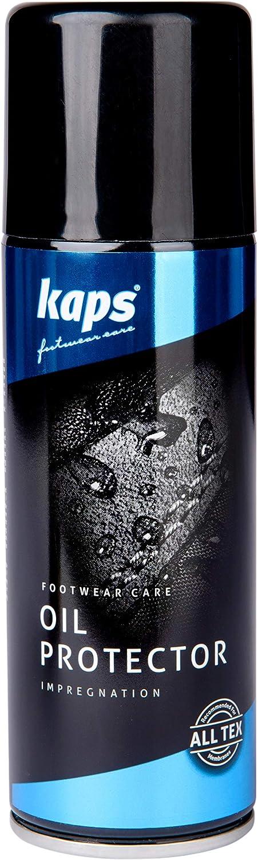 Kaps Spray Impermeabilizante Repelente al Agua para Botas de Cuero Engrasado Encerado, Nobuck y Ante, Piel de Anilina Rústica, con Aceite Mineral, Protector en Aceite