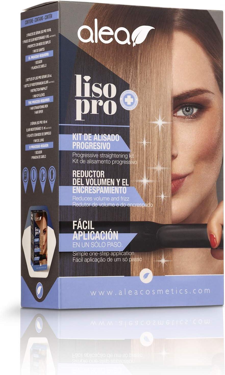 Alea Liso Pro - Kit de alisado con queratina