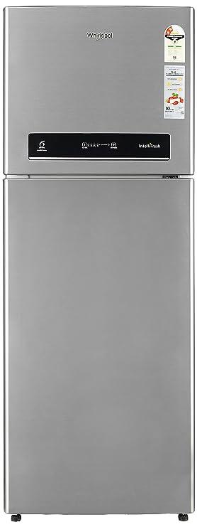 Whirlpool 340 L 2 Star Frost Free Double Door Refrigerator IF355 ELT 2S, Illusia Steel  Refrigerators