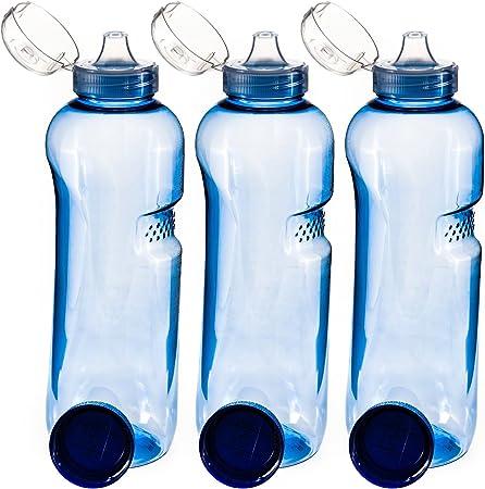 3/x Couvercle Flip Top Greiner Gourde 3/x 1/L Bouteille deau Tritan sans BPA
