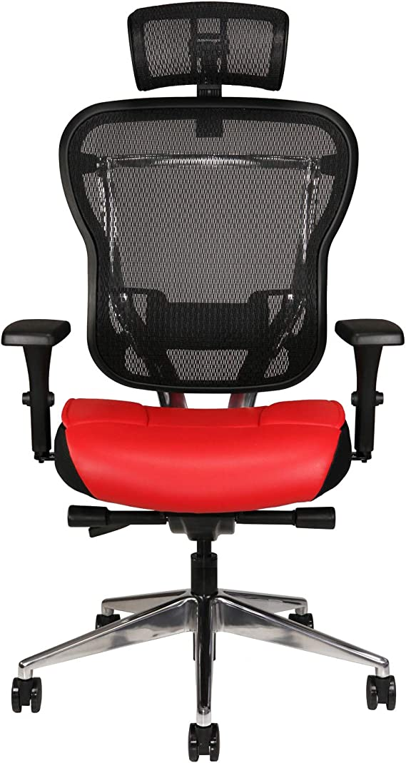 Oak Hollow Furniture Aloria Series Office Chair Ergonomic Executive Computer Chair with Headrest