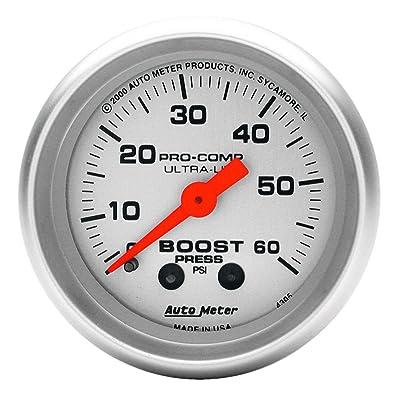 Auto Meter 4305 Ultra-Lite Mechanical Boost Gauge: Automotive