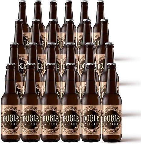 Pack x24 | Cerveza Artesana Doble Malta 6,9% Alc. 24 unidades. Cervezas Albero: Amazon.es: Alimentación y bebidas
