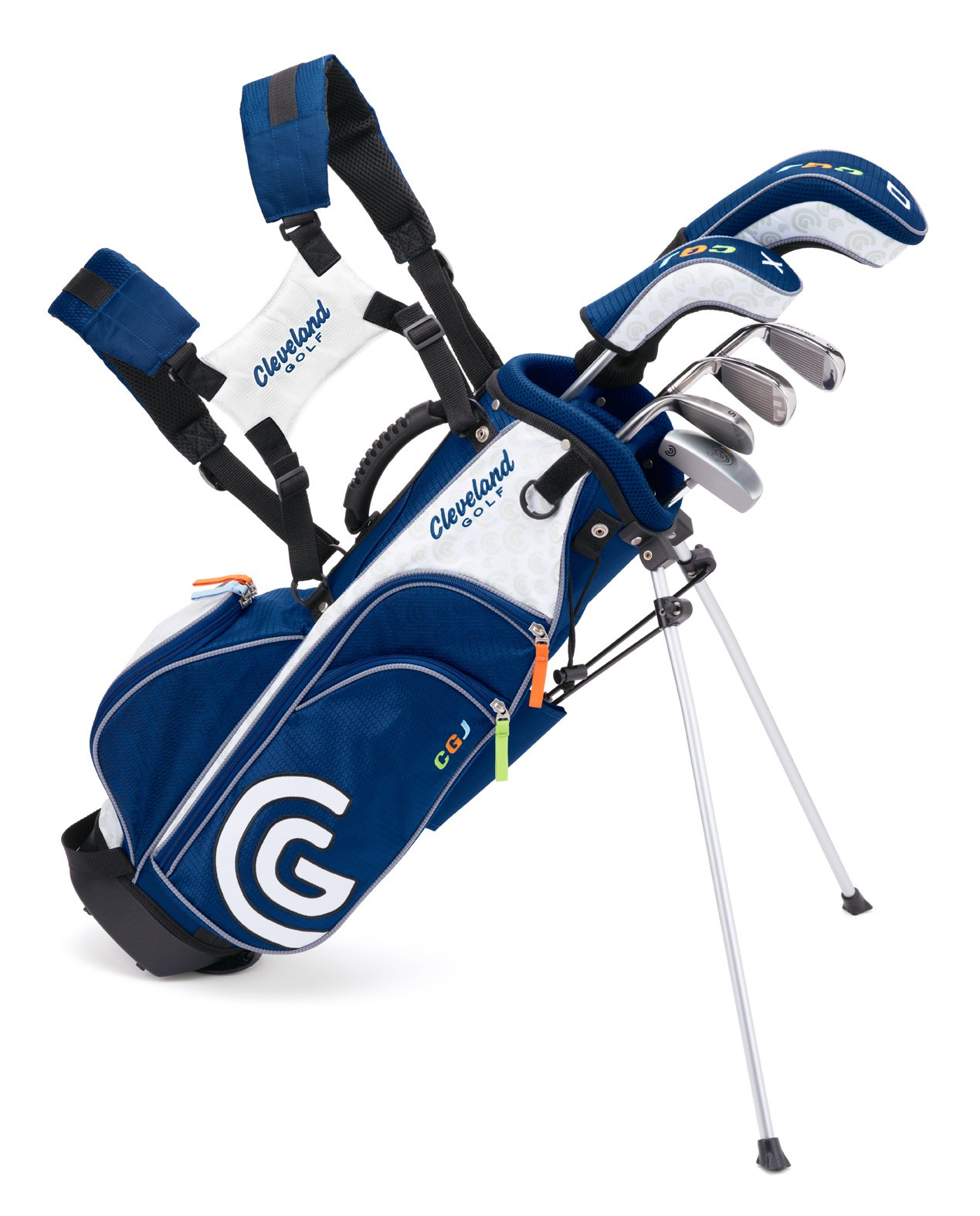 Cleveland Golf Junior Golf Set, Large Ages 10-12, 7 Clubs and Bag by Cleveland Golf