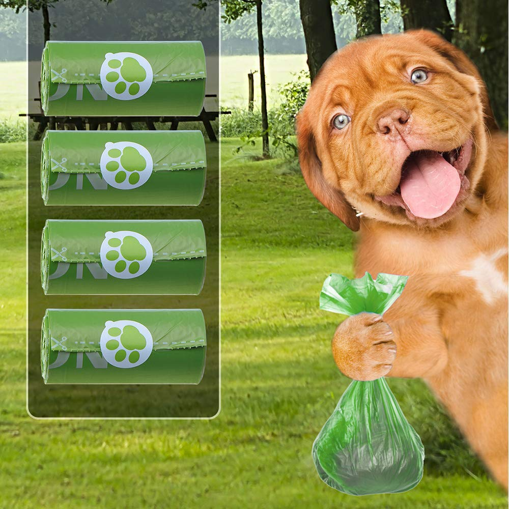 Amazon.com: Runfit Biodegradable Dog Poop Bag, Dog Waste ...