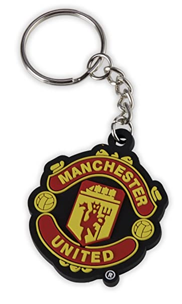 Manchester United FC Crest Keyring Keychain - Official, Licensed Product - Great Man Utd Souvenir