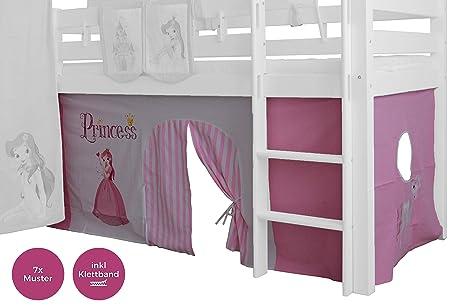 Hochbett Vorhang Set Mädchen : Xxl discount vorhang teilig für mädchen baumwolle