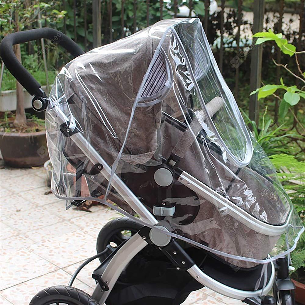 ZOEON Universal Regenschutz f/ür Kinderwagen Gute Luftzirkulation Windschutz f/ür Buggy
