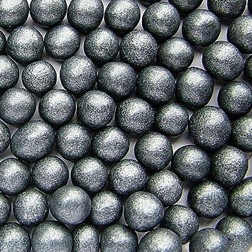 Natural 8 mm negro tuercas de leche de soja Gluten OMG libre Shimmer perlas Bulk Pack: Amazon.es: Hogar