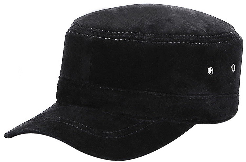 La Vogue-Vintage Cappello Ottagonale in Pelle Uomo Berretto Vasco con  Visiera Regolabile Invernale Marrone1 58cm  Amazon.it  Abbigliamento c24b30552d06