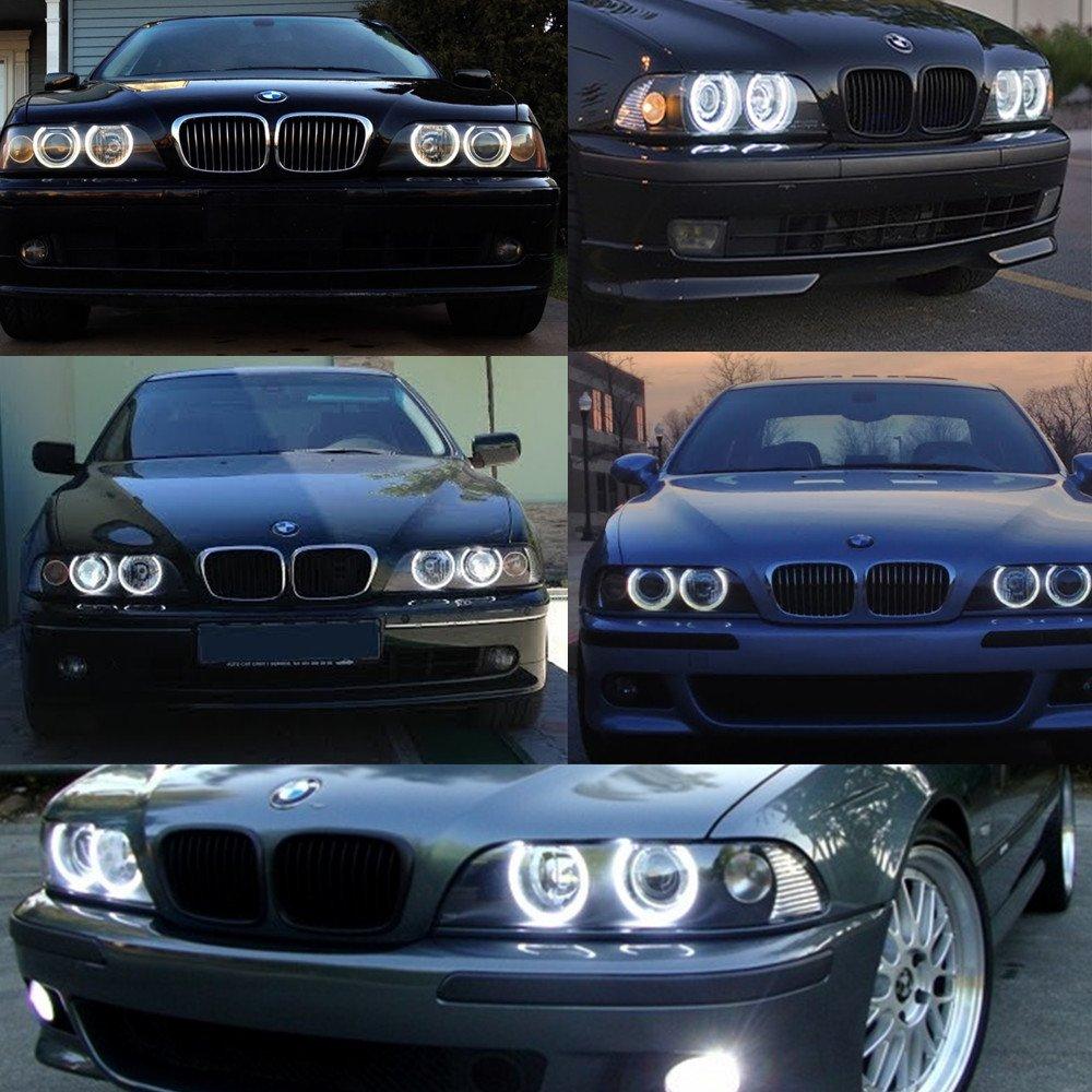 WinPower 2X 5W Angel Eyes Lampadine Bianco 6000K per E87 E39 E60 E61 E63 E64 E65 E66 E83 E53 ecc.