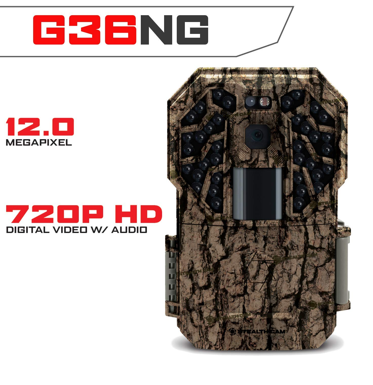 Stealth Cam STC-G36NG 12MP 36Ng Pro Brown Oak Camera
