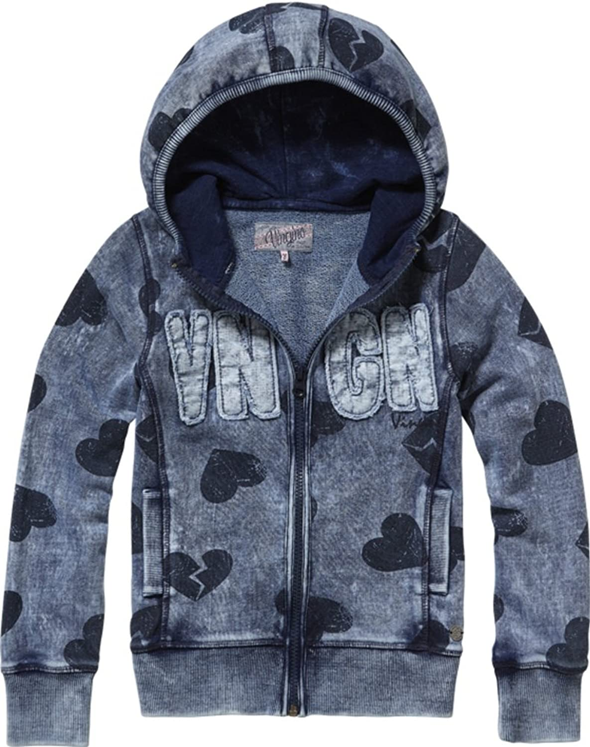 Vingino Sweatjacke m. Kapuze Nasira Girls, Fb. Indigo blue