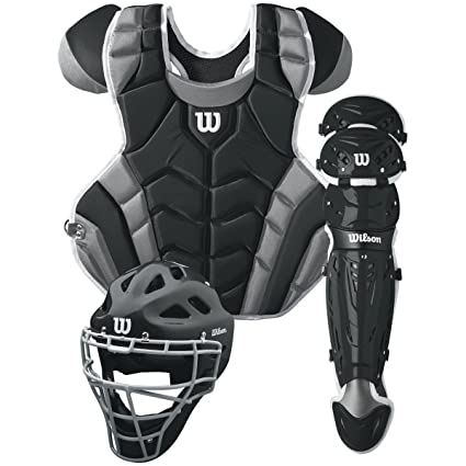 Amazon.com   Wilson C1K Catcher s Gear Kit 3046e231dd