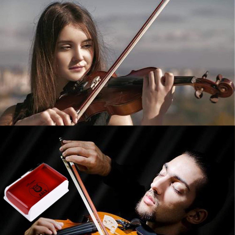 Rosin Violin Rosin Light 4 Pack for Violin Viola and Cello Rosin for Bows