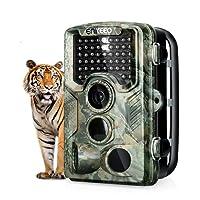 ENKEEO 16MP Camera de Chasse 1080P PH760 HD Caméra de Surveillance Étanche 47pcs 850nm de LEDs Angle Détection 120 ° Avec Écran 2.4 Vision Nocturne Traque IR Caméra de Jeu Nocturne Infrarouge