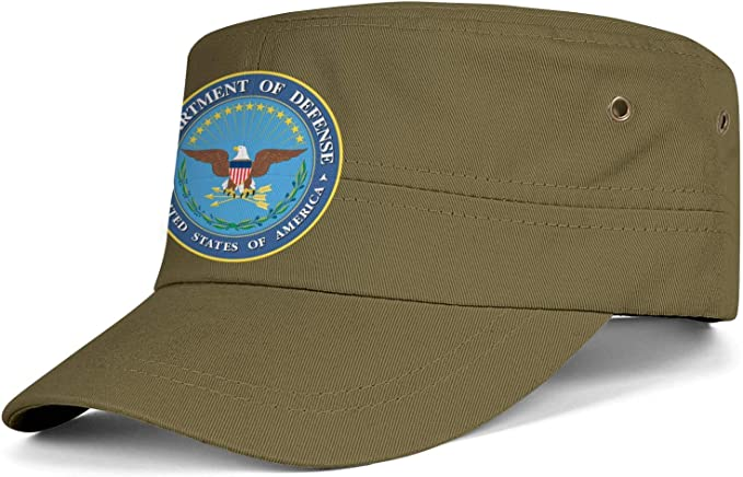 Coast Guard Insignia Headwear Men Women Washed Denim Fabric Baseball Cap U S