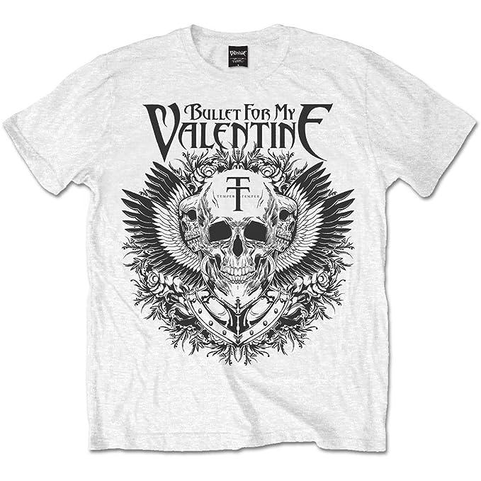 Rock Off Trade Bullet For My Valentine Bfmv Mens XXL T-shirt Tee White Black