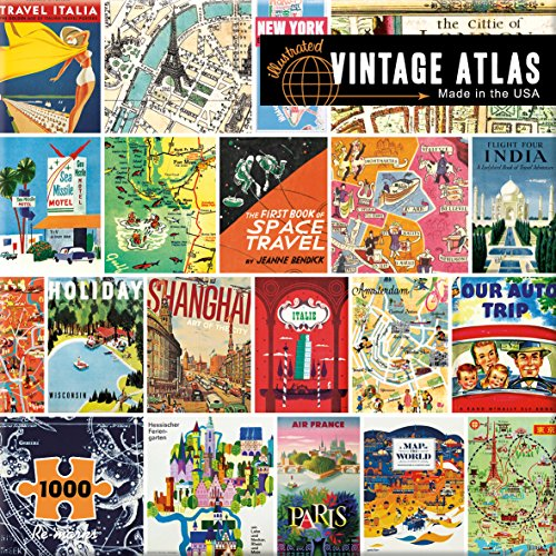 Re-marks Atlas 1000 Piece Puzzle from Re-Marks