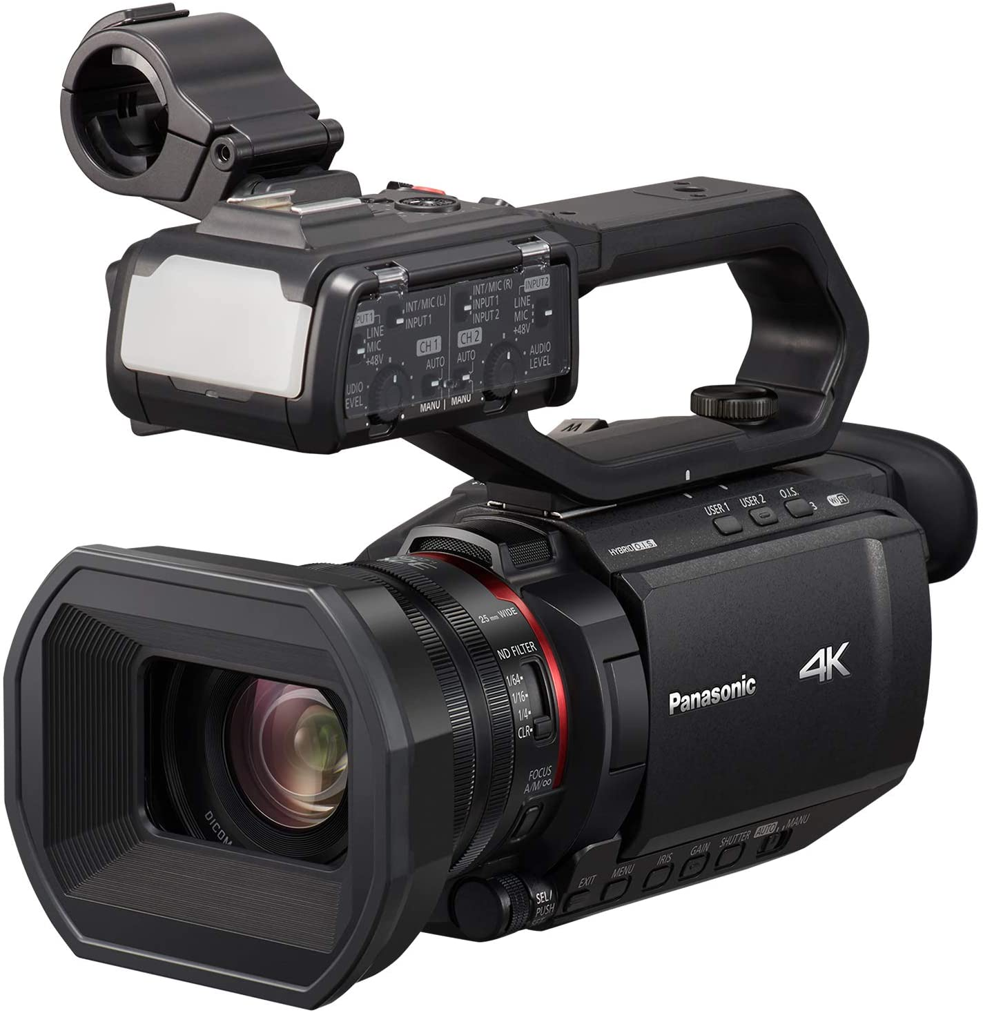 Amazon Opens Pre-Orders For Panasonic X1500 & X2000 4K Professional Camcorders