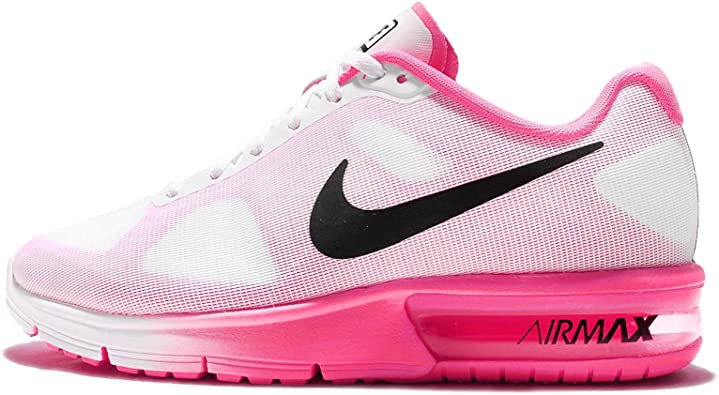 Nike Wmns Air MAX Sequent, Zapatillas de Running para Niñas ...