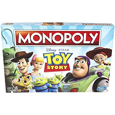 Monopoly Toy Story Board Game Family and Kids Ages 8+: Toys & Games