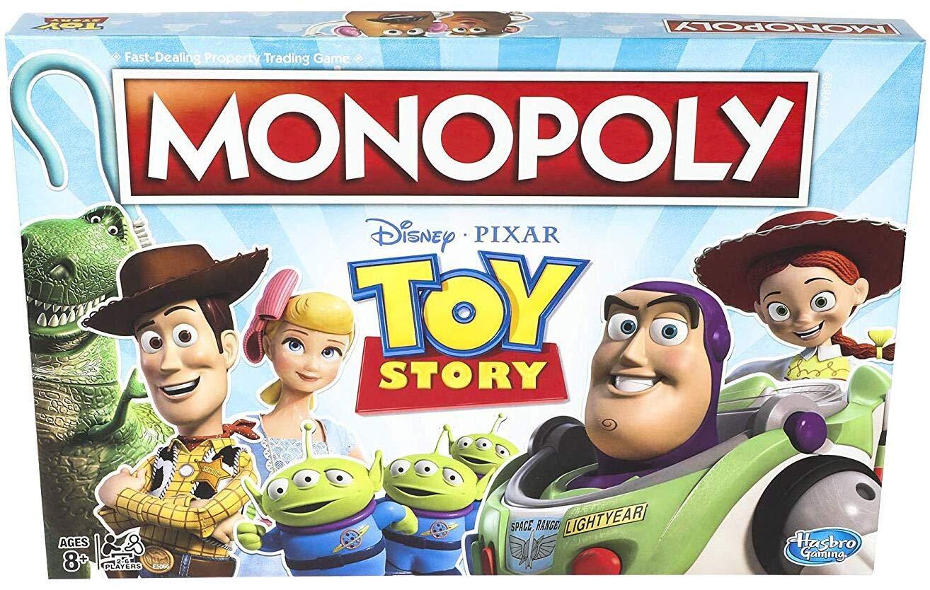 ویکالا · خرید  اصل اورجینال · خرید از آمازون · Monopoly Toy Story Board Game Family and Kids Ages 8+ wekala · ویکالا