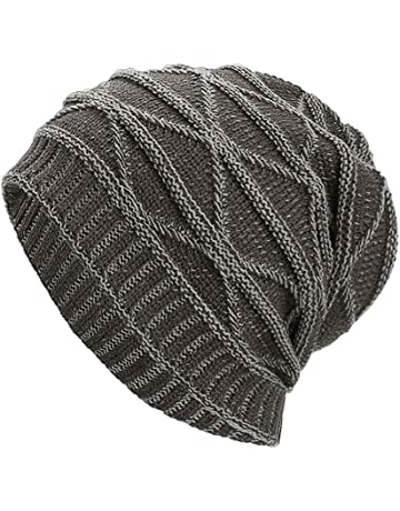 bf7b6ffd4330ae NRUTUP Winter Hats, Unisex Warm Hat, Skull Cap, Ski Hat - Knit Hat