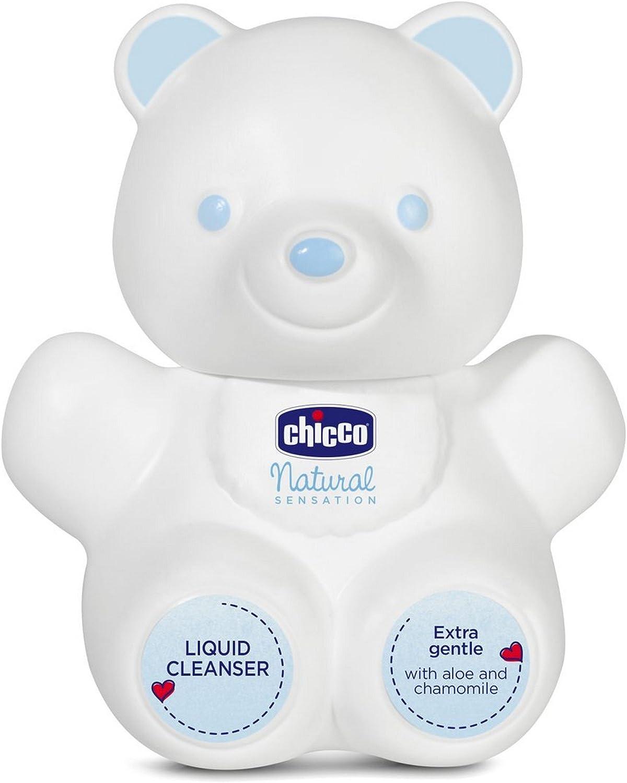 Chicco Natural Sensation - Gel de baño Oso, 300 ml: Amazon.es: Bebé