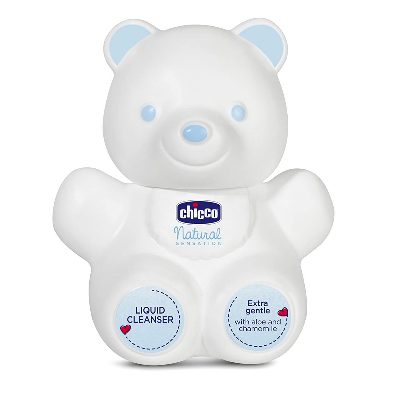 Buy Chicco Nat Sens Bear Liquid Cleanser White 300ml Online At Low Pigeon Baby Shampoo Chamomile 100ml Paraben Free Prices In India