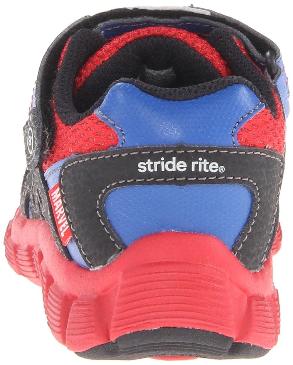Stride Rite Spider-Man Web-Crawler Sneaker Toddler//Little Kid