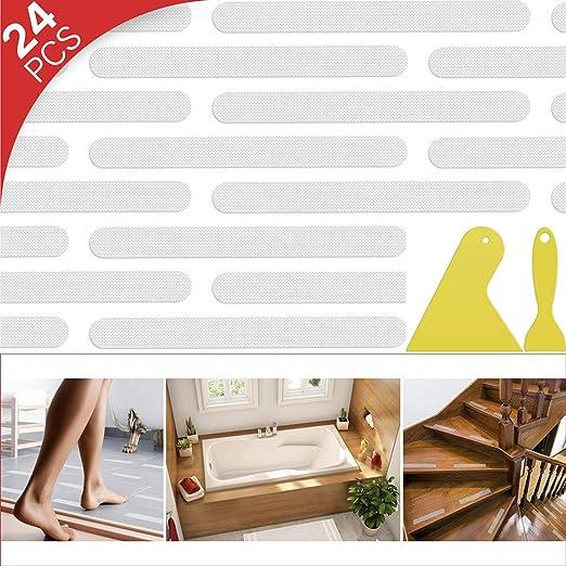 12//24 Anti Slip Grip Strip Non-Slip Safe Flooring Mat Bath Tub Shower Sticker T