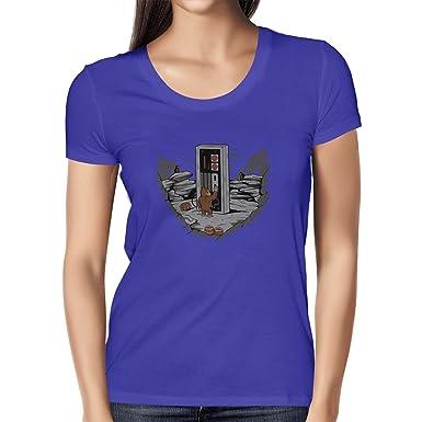 Texlab Donkey Odyssey - Herren T-Shirt, Größe S, Braun