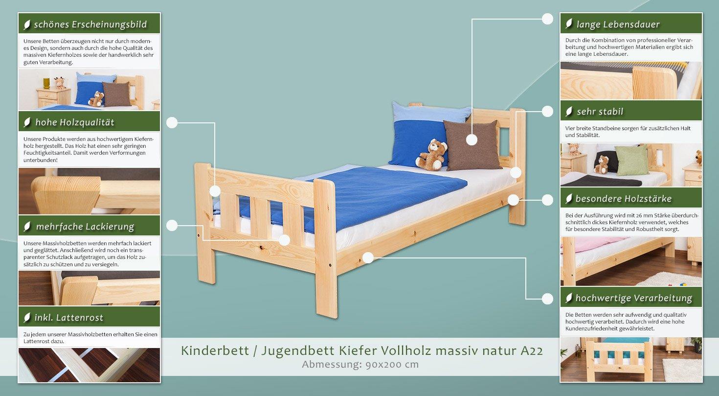 Etagenbett Wickey Jungle Hut Duo : Lattenrost 150x200cm. fabulous einzel oder doppeldruck dickere