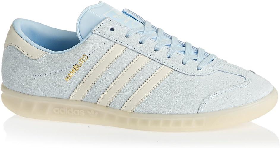 adidas Hamburg W Iceblue White White